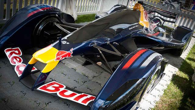 比F1更高端,红牛概念原型赛车