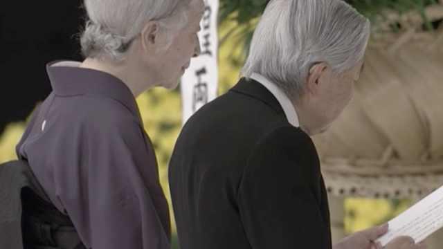 日投降73年,天皇最后一次出席追悼