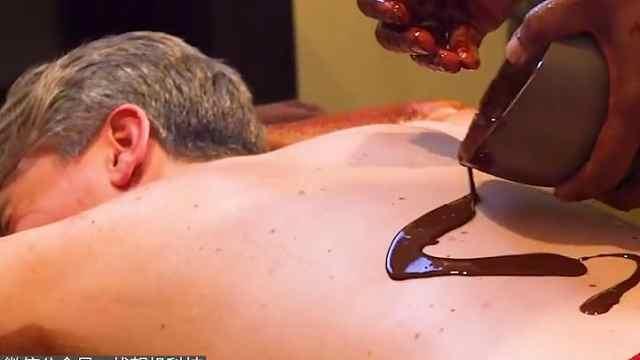 巧克力按摩感觉怎样?