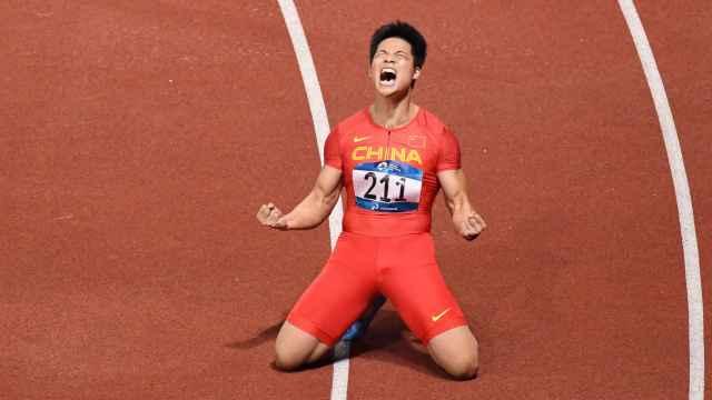 统治亚洲!苏炳添首夺亚运百米金牌