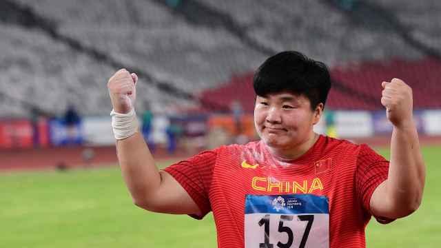 她战胜抑郁,助中国铅球亚运11连冠