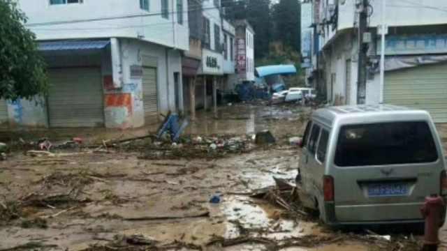 云南麻栗坡县洪涝,已致5死16人失联