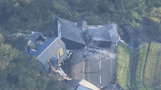安倍回应北海道地震:首要任务救人