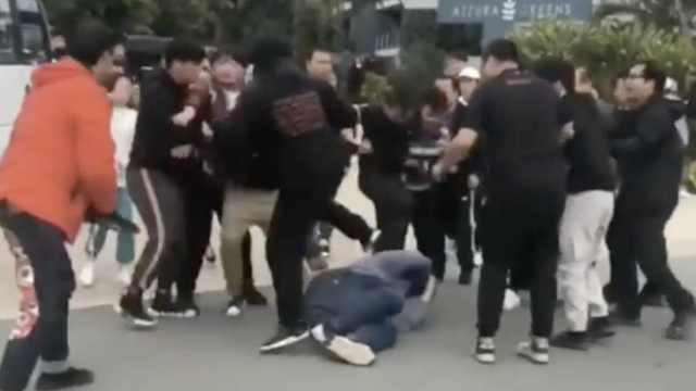 中国剧组男团粉丝澳州冲突5人被抓