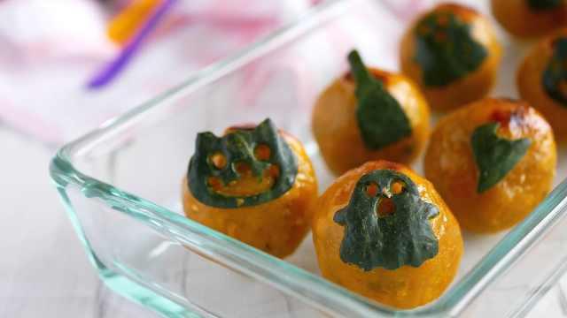 新手也能做的南瓜蛋糕,秋季小甜点