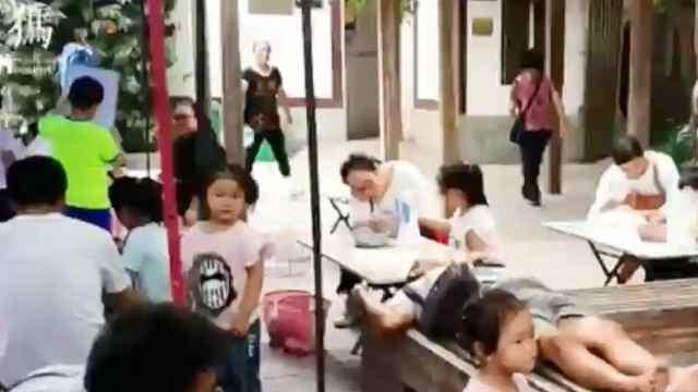 儿童防拐测试 一小时内拐走三个