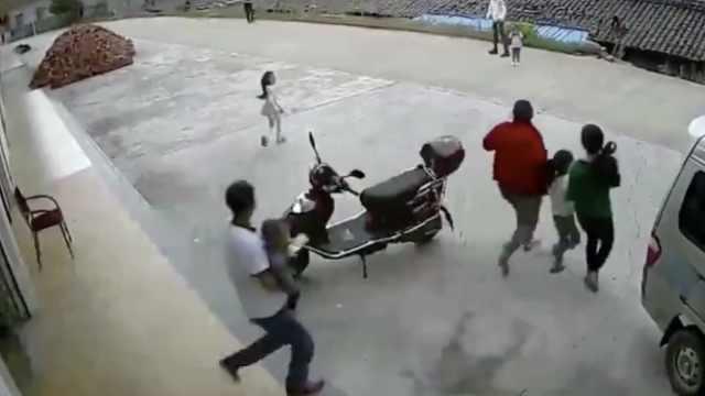 现场视频:陕西宁强发生5.3级地震