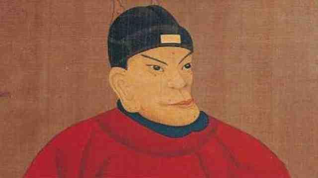 为什么朱元璋的脸长得那么奇怪?