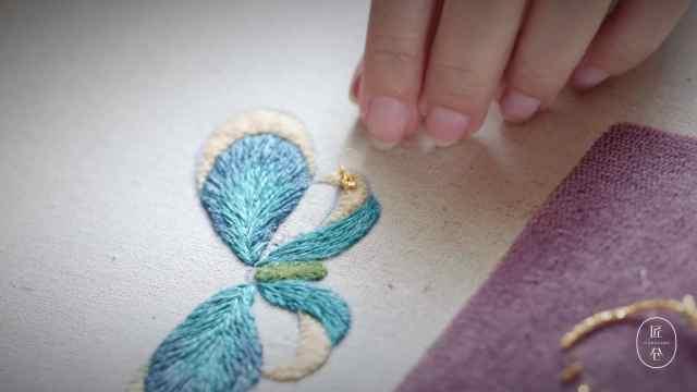 金线绣,另一种奢华之美