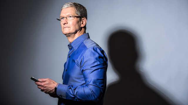 库克:万亿市值苹果只会诞生在美国