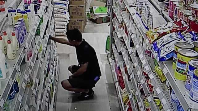 他盗窃为生,狂偷9瓶洗发水塞身上