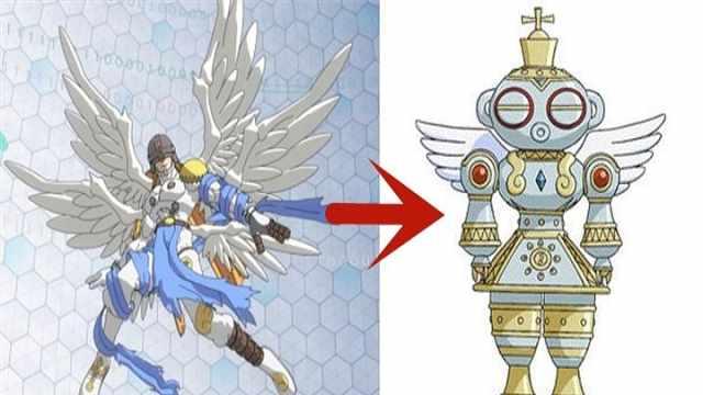 天使兽进化后变丑了? 心疼天使兽