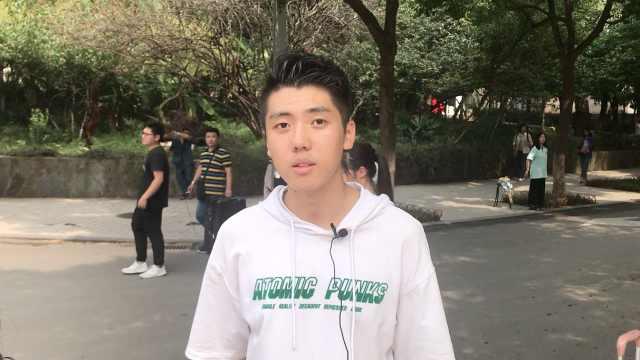 他校考第3名,为证明自己参加高考