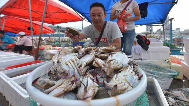 中秋临近,螃蟹一天涨价近20元/斤