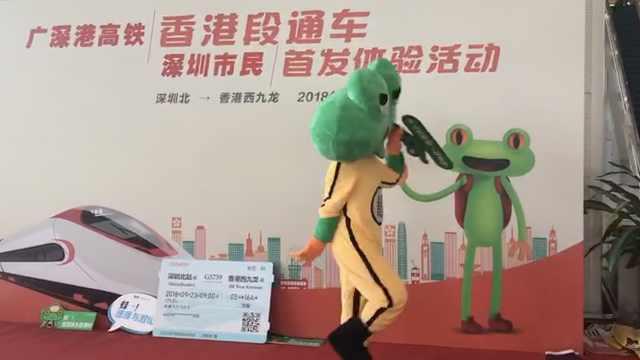 广深港高铁遇小长假,旅客扎堆体验
