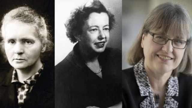 诺贝尔物理学奖117年,3名女性得主