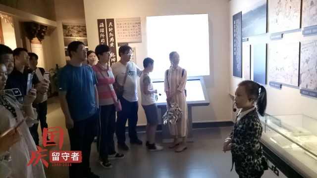 萌娃當義務講解員,臺灣游客追著聽