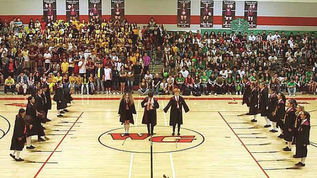 歌舞青春!美高中生热舞