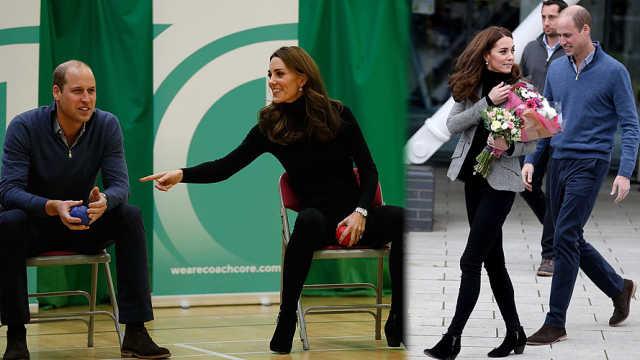凯特王妃产后亮相,被网友赞身材好