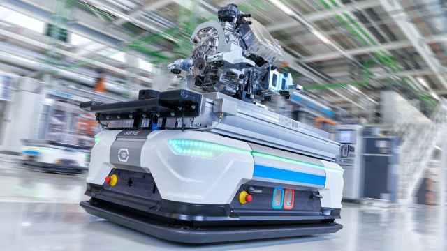 高度自动化,奥迪这样生产电动机