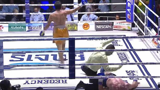 泰拳传奇战死擂台!被对手KO后身亡