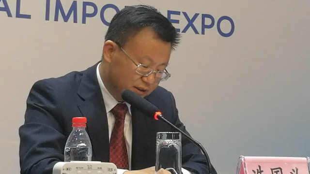 冼国义:出口增长速度快于进口