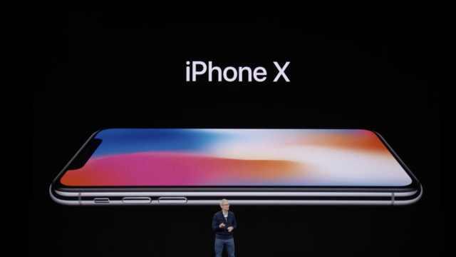 苹果:部分iPhone X出现触控问题