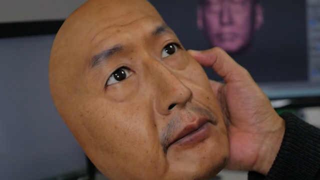 日本公司制作超级逼真的3D人脸面具