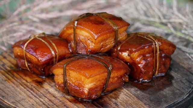 九宫格东坡肉,肥而不腻,入口即化