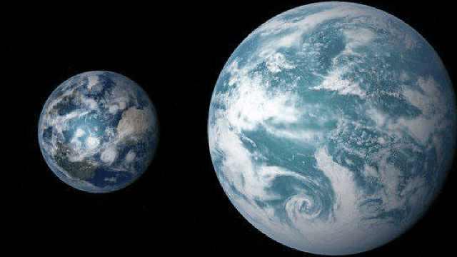开普勒452b,一个和地球相似的行星