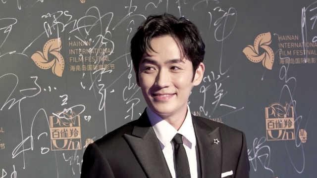 朱一龙出席海南电影节:下次带作品