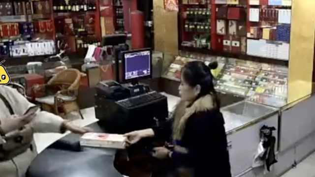 延迟支付当幌子,男子专坑烟草店