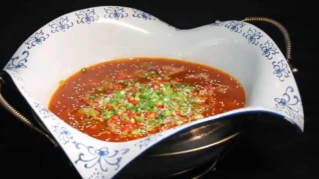 四川人最爱的家常菜:豆花牛柳