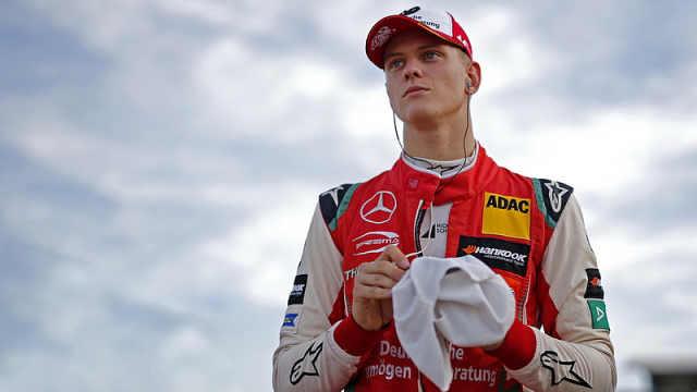 继承父亲赛车梦,小舒马赫夺F3冠军