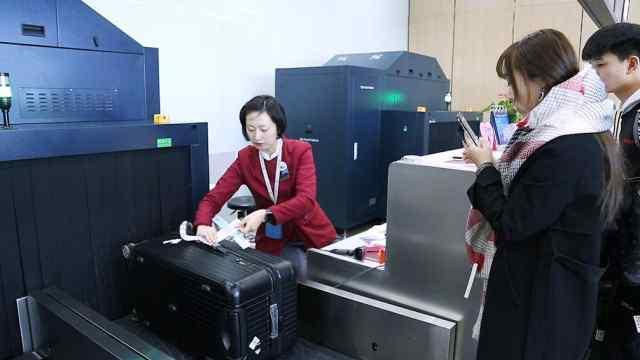 南京,南站候机楼试运行!