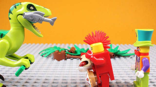 【国王先生】乐高玩具卖东西大比拼