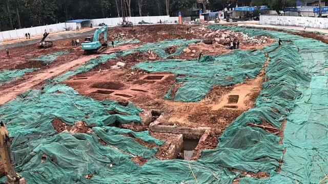 中山大学建食堂,不料挖出千年古墓