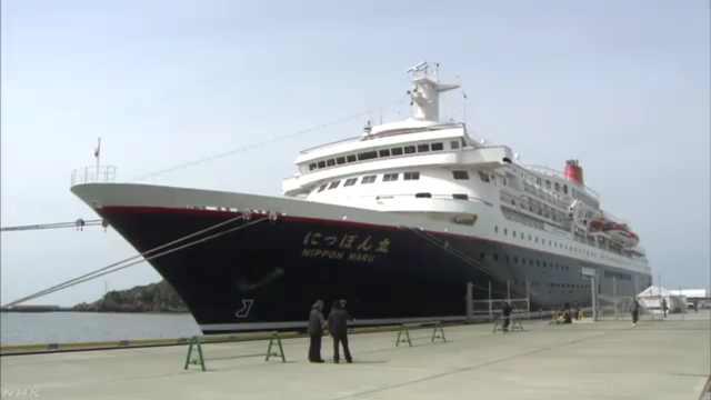 日本客轮撞上岸,船长被测出酒精