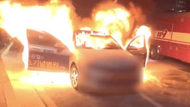 韩又一出租司机自焚:誓死反对拼车