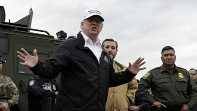 川普:不建墙就让国家进入紧急状态