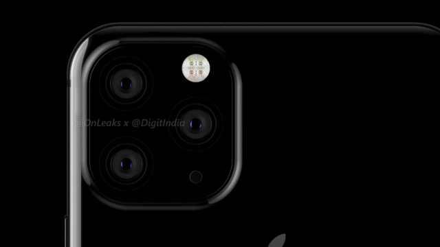苹果2019将发三款手机:配三个后摄