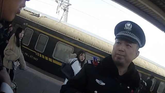 醉酒男子高铁抽烟,被抓后反呛乘警