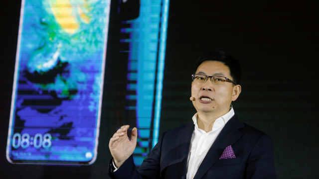 华为称最快今年成为全球最大手机商