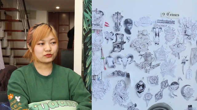 清华毕业生当纹身师:莫让学历束缚