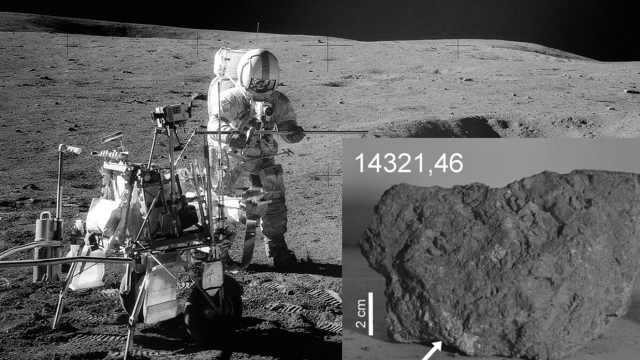 地球上最古老岩石在月球上被发现?