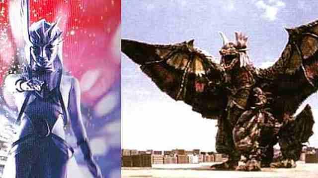 天使怪兽迷惑两个奥特曼把她当做神