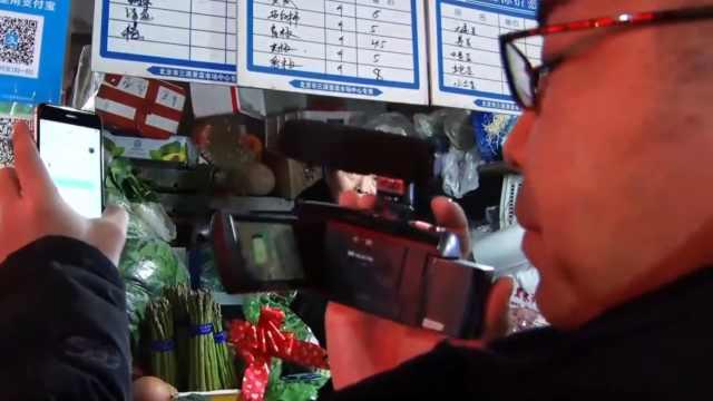 日本电视台记者体验中国无现金社会