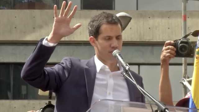委内瑞拉法院禁止反对派领导人出国