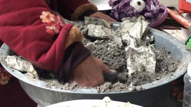 草木灰味的豆腐?8旬妪把豆腐埋灰中