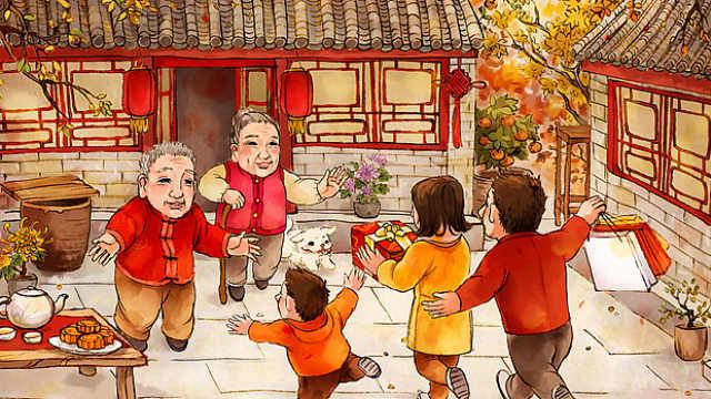 春节:几代人奔回一个家